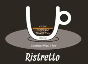 café corto o café ristretto