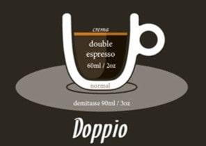 café doppio o café doble