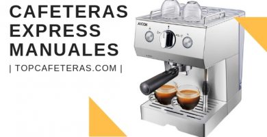 cafetera express manual