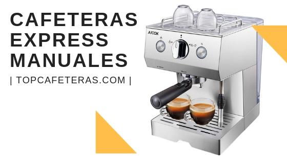 cafetera express manual