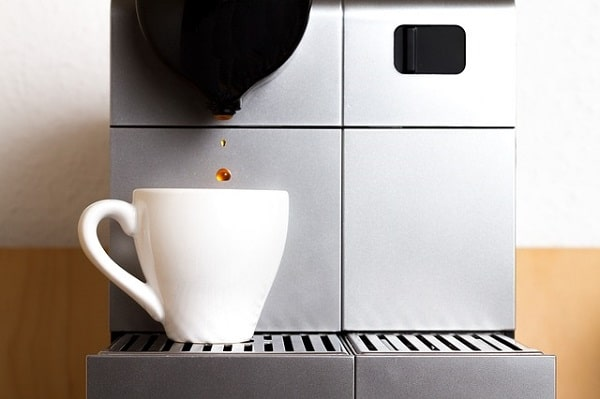 cafetera de cápsulas espresso