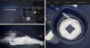 tecnología latte perfetto