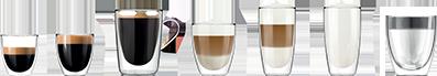 cafés preparados con saeco lirika