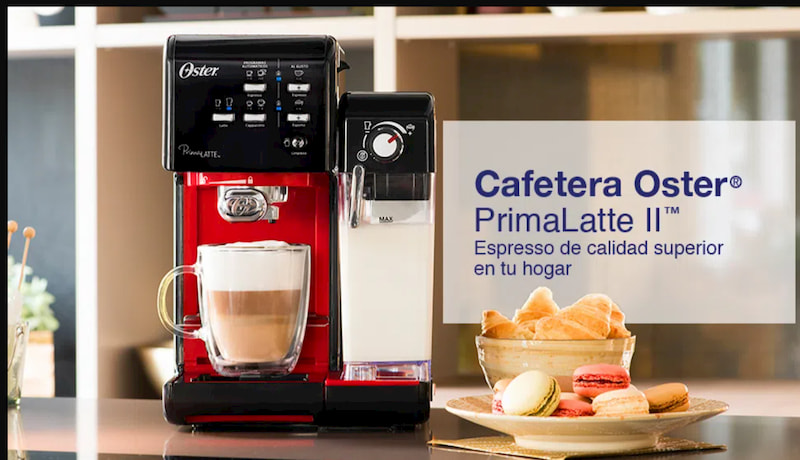 Cafetera oster prima latte 2