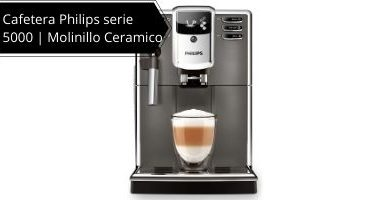 Cafetera Philips serie 5000