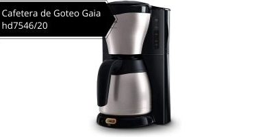 Cafetera de Goteo Gaia hd7546/20
