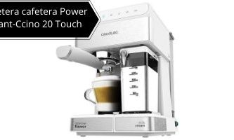 Power Instant-Ccino 20 touch