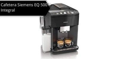 Cafetera Siemens EQ 500 integral