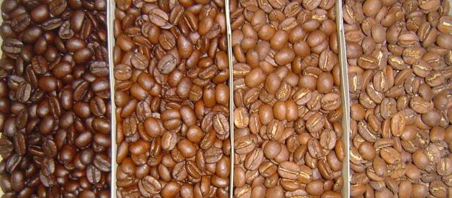 color granos de café