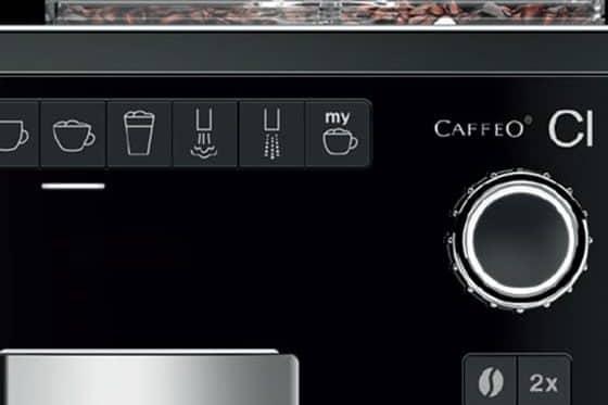 panel de control melitta Caffeo CI