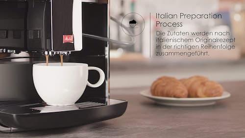 proceso de preparación italiano